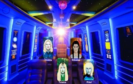 Négy Androméda Tanácsbeli humanoid faj